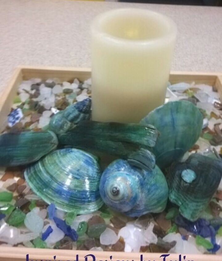 turn your found beach treasures into art , crafts