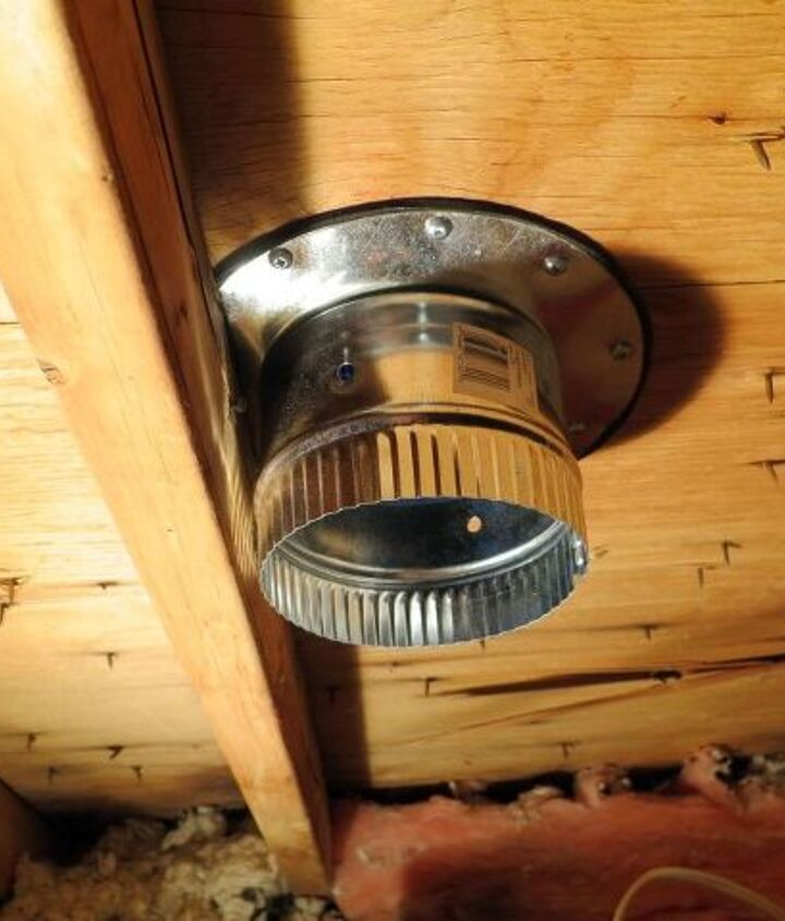 blow it out your roof a guide to replacing a bathroom fan , bathroom ideas, electrical, home improvement, home maintenance repairs, how to