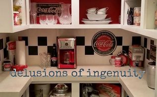 coca cola themed kitchen pantry, closet, kitchen design