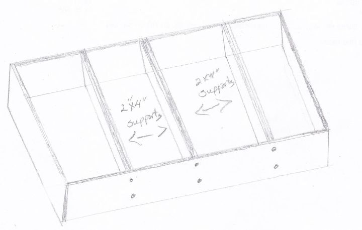 dog bed box frame