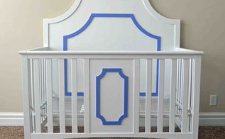 giving an old crib a face lift, bedroom ideas, painted furniture