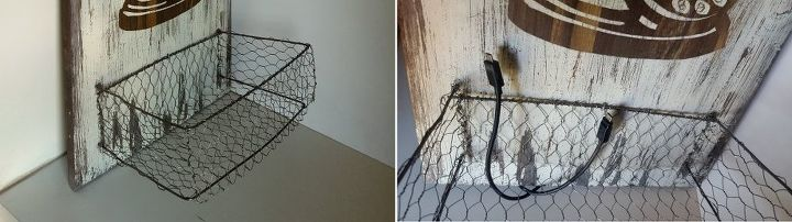 recycle a cupboard door into a charging station, diy, doors, home decor, repurposing upcycling