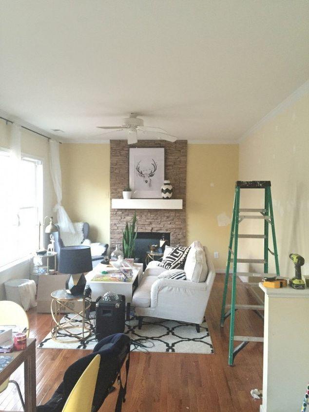 billy bookcase built ins, diy, home decor, shelving ideas