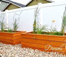 how to build attractive backyard planter boxes, diy, gardening, how to, outdoor living