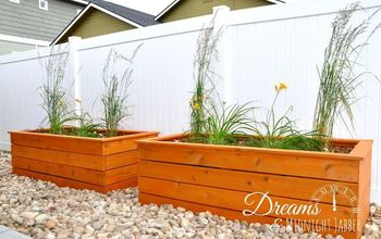 How to Build Attractive Backyard Planter Boxes