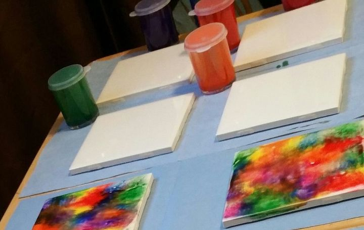 Create Your Own Coasters With Tiles And Unicorn Spit Hometalk - Create coasters from photos