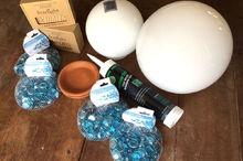 garden globes, crafts, gardening, how to