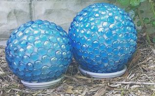 garden globes, crafts, gardening, how to