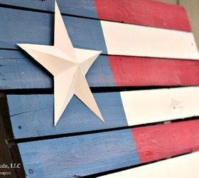 Rustic American Flag Pallet DIY