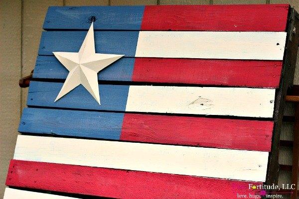 rustic american flag pallet diy, crafts, pallet, patriotic decor ideas, repurposing upcycling