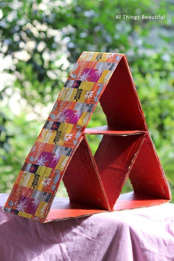 Pyramid Cardboard Organiser