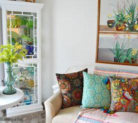My Boho Abode On A Budget, Home Decor, Living Room Ideas