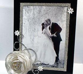 Easy DIY Wedding Frame Great
