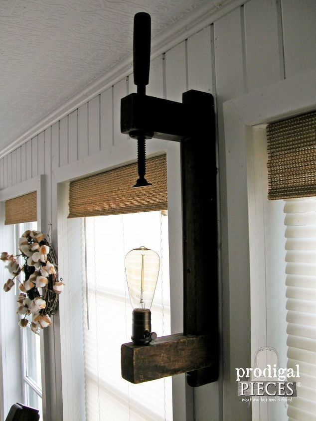 diy farmhouse lighting with tutorial, diy, home decor, how to, lighting, repurposing upcycling