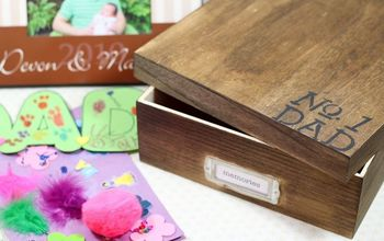 DIY Father's Day Memory Box Gift