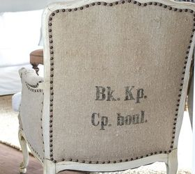 don t pass up that ugly french chair painted furniture repurposing upcycling reupholster