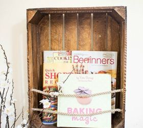 Diy Crate Bookshelf, Diy, Home Decor, Repurposing Upcycling, Shelving  Ideas, Storage
