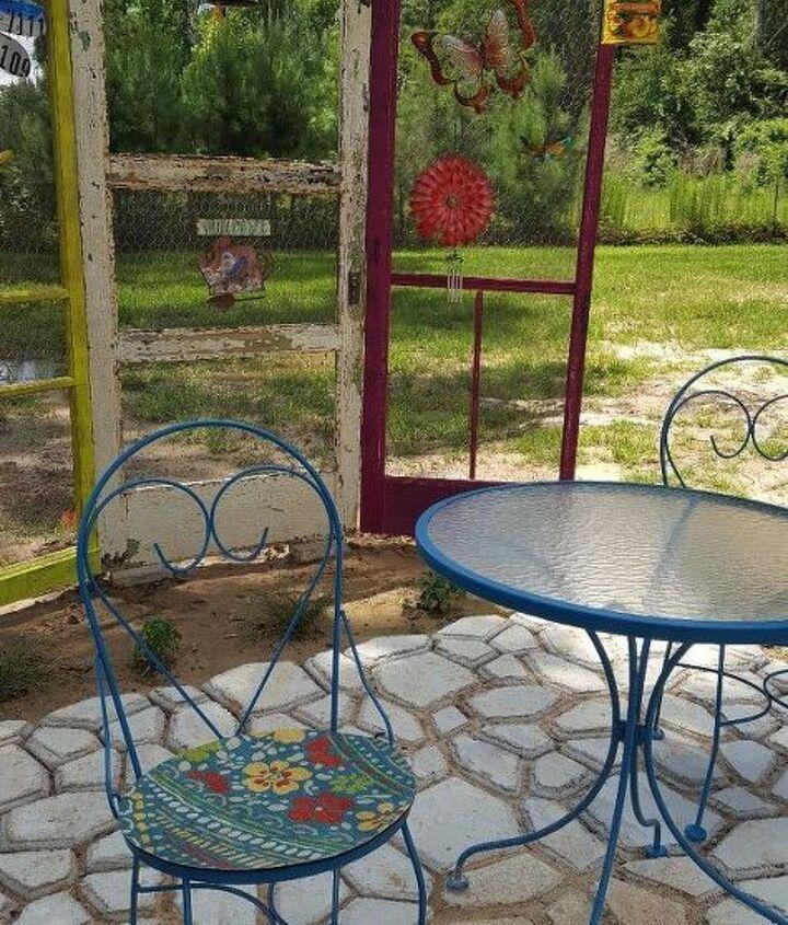 my secret garden tea room , outdoor furniture, outdoor living