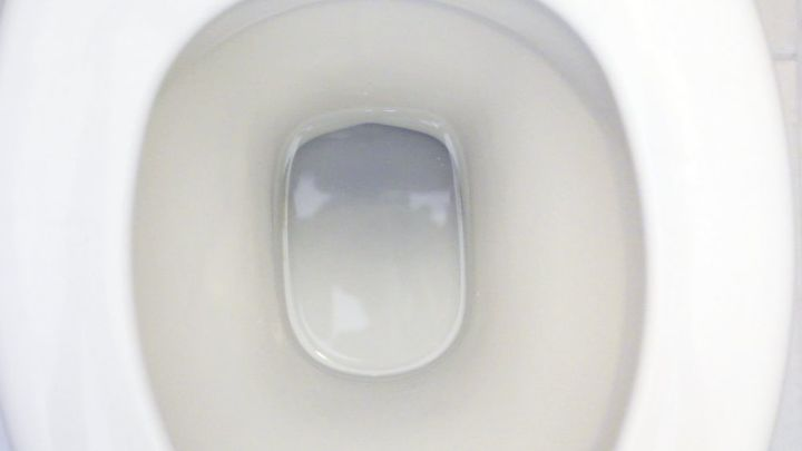 green toilet bowl cleaner