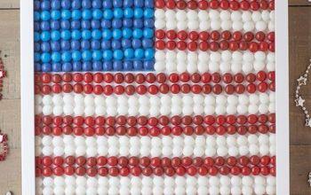 Patriotic Flag Frame