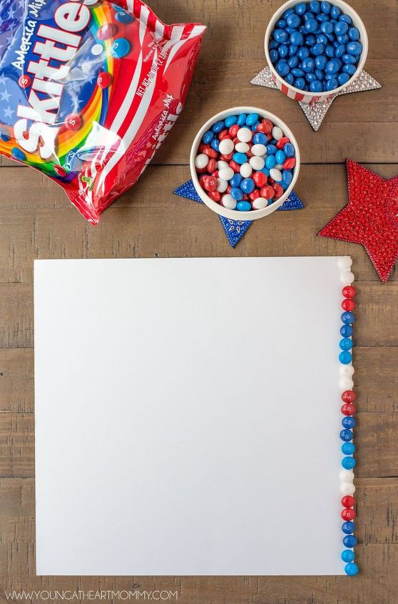 patriotic flag frame, crafts, how to, patriotic decor ideas, seasonal holiday decor