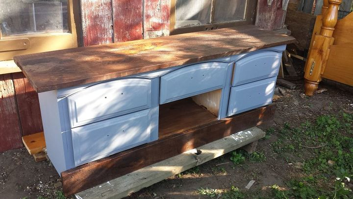 Transforming 3 Ruined End Tables Hometalk