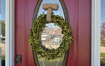 3 Easy DIY Boxwood Wreaths for About $2 a Piece