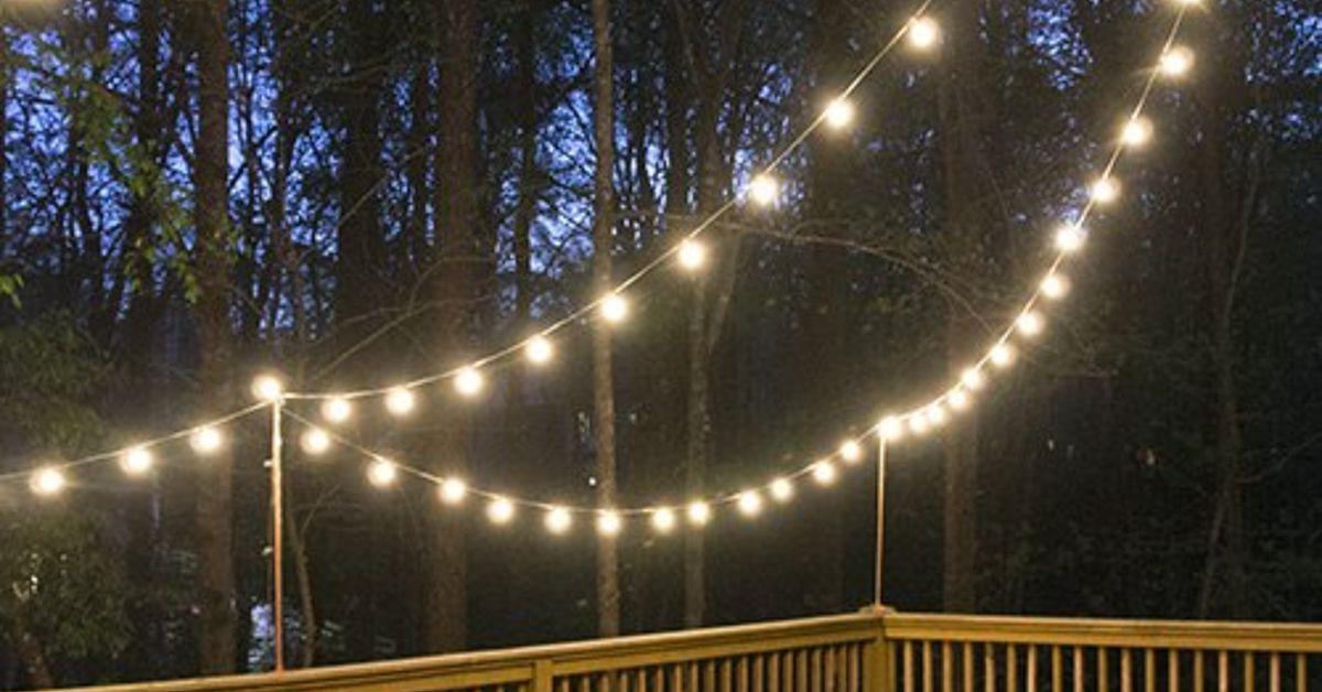 Diy deck lighting hometalk aloadofball Images