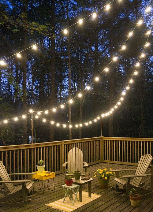Diy deck lighting hometalk diy deck lighting decks lighting outdoor living aloadofball Images