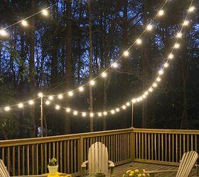 & DIY Deck Lighting   Hometalk