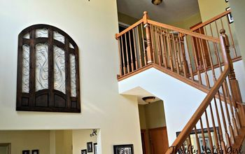 Wall Art for a Grand Entrance With Modern Masters Reactive Paint