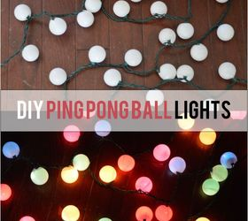 Diy Ping Pong Ball Lights, Lighting, Outdoor Living, Repurposing Upcycling
