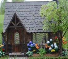 my sugarplum dollhouse cottage tour, crafts, home decor