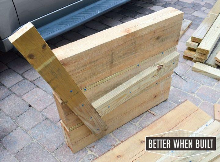 Diy outdoor sofa hometalk for Sofa exterior diy