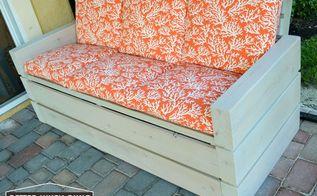 diy outdoor sofa, diy, outdoor furniture, woodworking projects