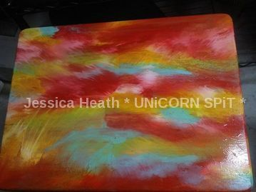 boring tv tray turned fabulous with unicorn spit , how to, painted furniture