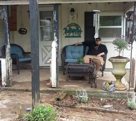 Porch Remodel With Curtains Lights Landscaping, Home Decor, Home  Improvement, Landscape, Porches