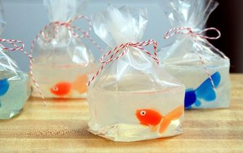 DIY Goldfish in a Bag Soaps