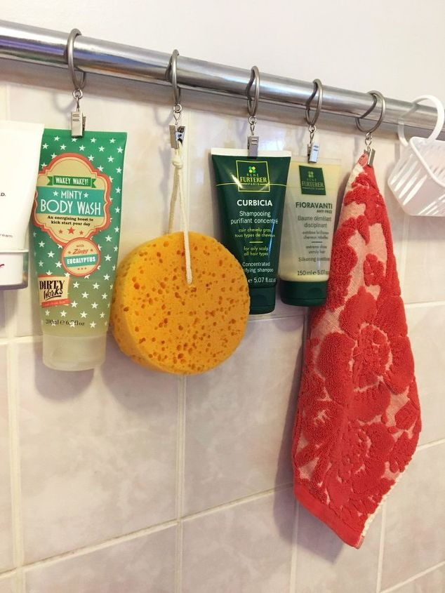 Get Instant Shower Storage for Less Than $20 | Hometalk