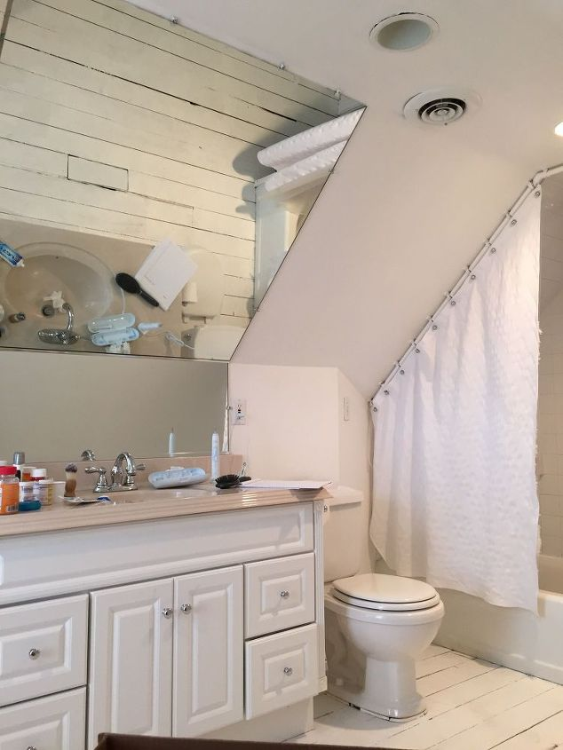 Industrial Chic Attic Bathroom Renovation Hometalk Fascinating Attic Bathroom Designs
