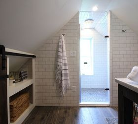 Industrial Chic Attic Bathroom Renovation, Architecture, Bathroom Ideas,  Home Decor