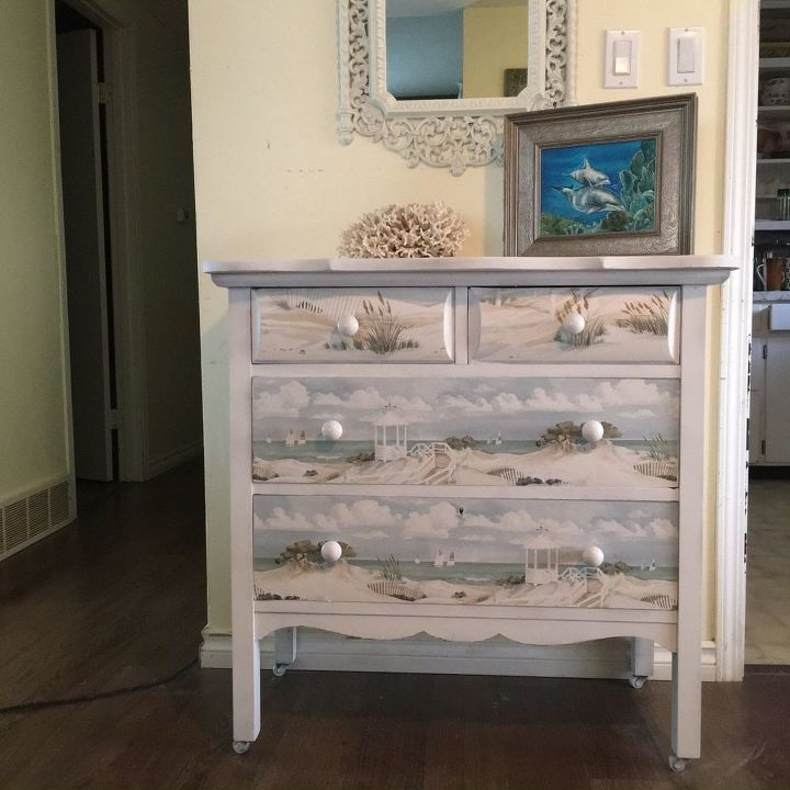 Nautical Dresser Makeover Hometalk