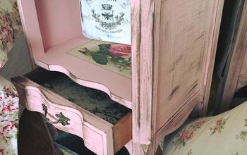 "Fab Furniture Flipping Contest Country Chic Paint ""Bling Bling"""