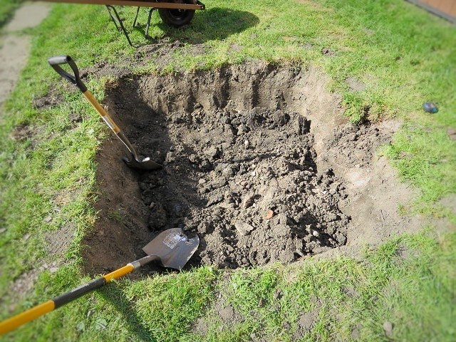 save your yard foundation with a dry well, diy, home improvement, landscape, outdoor living