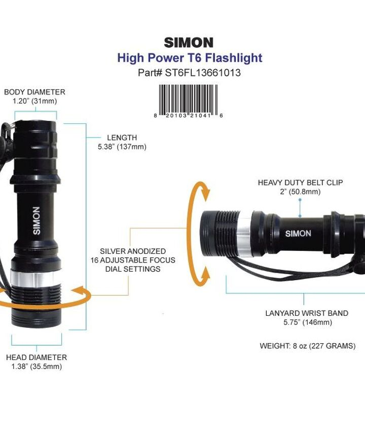 important cops flashlights
