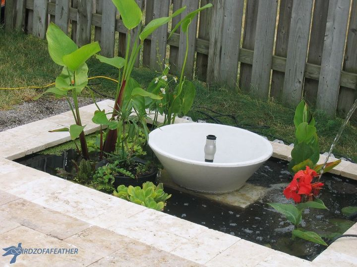 add some zen to your back garden with a water feature, diy, how to, landscape, outdoor living, ponds water features