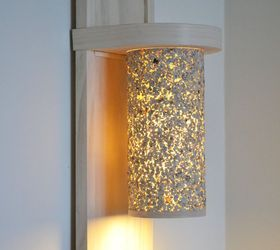 How To Make A Lamp Part - 25: Small Living Room Lighting Ideas How To Make A Wall Lamp Sconce, Home Decor,