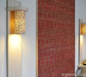 Small Living Room Lighting Ideas: How To Make A Wall Lamp/sconce | Hometalk