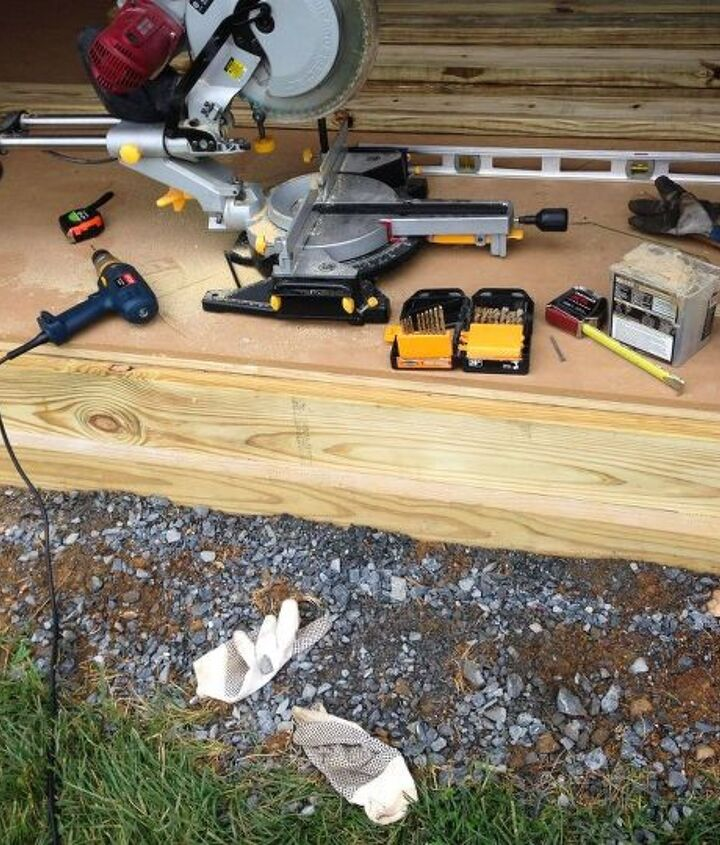 how to build a shed ramp, garages, how to, outdoor living, woodworking projects