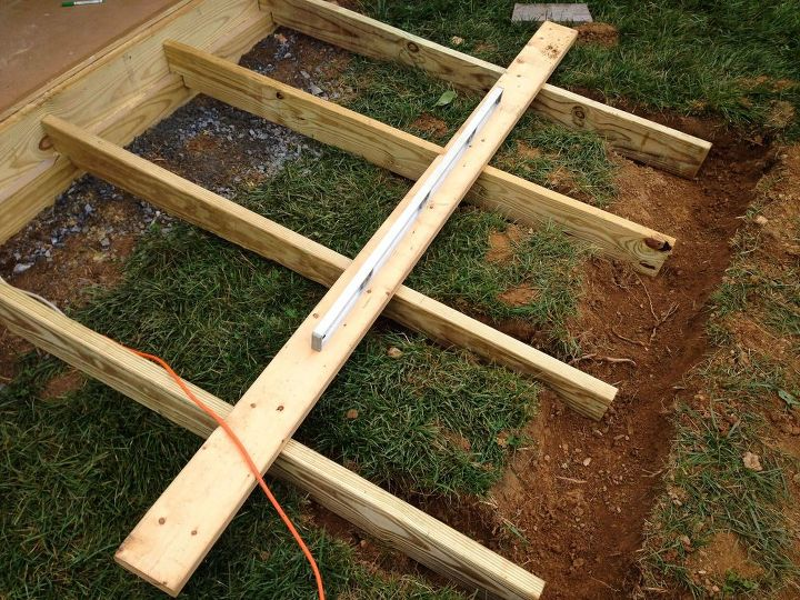 How To Build A Shed Ramp Hometalk